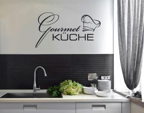 Wandtattoo Gourmet Küche Esszimmer Esstisch Kochen Essen Wandaufkleber bsm049