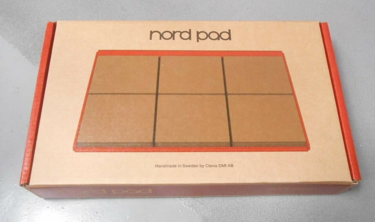 CLAVIA NORD PAD New Midi Controller Pad for Nord Drum 2