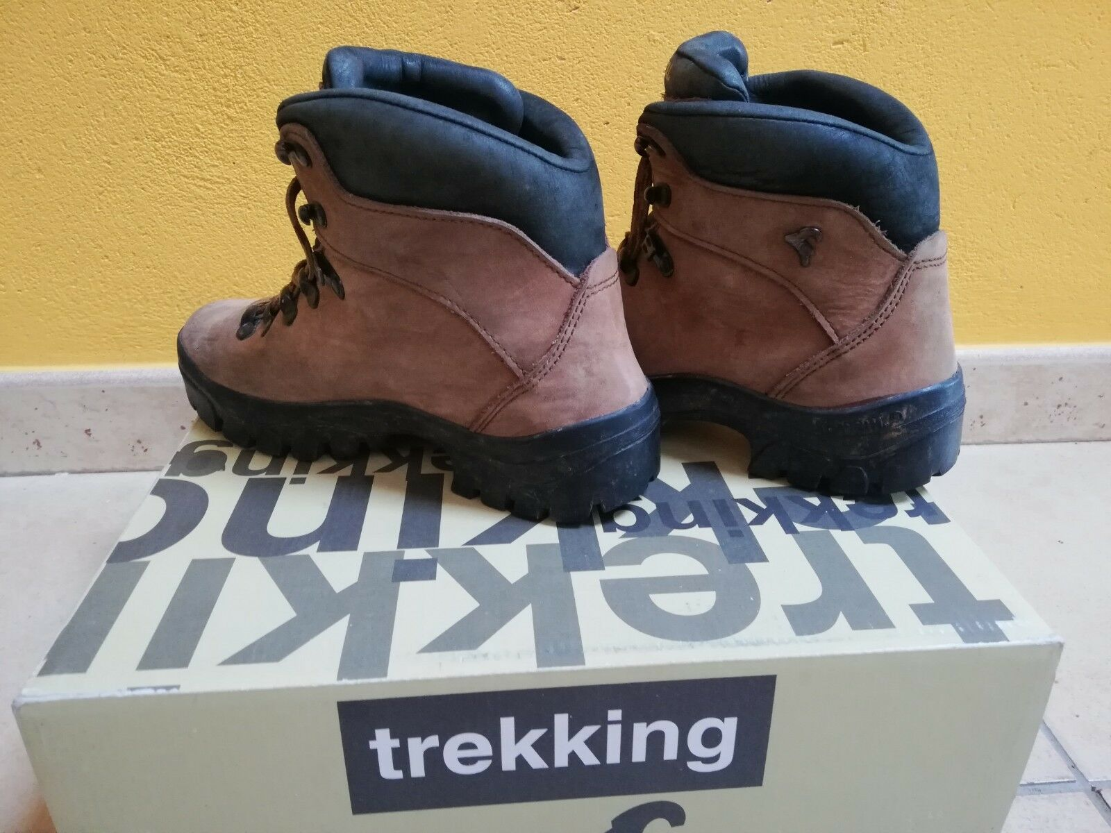 2 días de uso uso uso botas de montaña Boreal, tratamiento hidrófugo nº 4 (36) 8adbc5