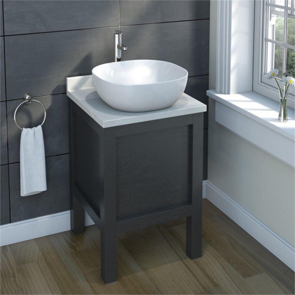SP carré comptoir Basin, H  140 mm D  420 mm W  420 mm