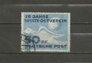 EAST-GERMANY-1949-The-75th-Anniv-of-the-Universal-Postal-Union-NICE-USED-ITEM
