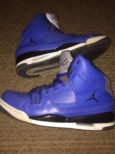 Nike AIR JORDAN SC 1 Flight Basketball Shoes Color Blue With