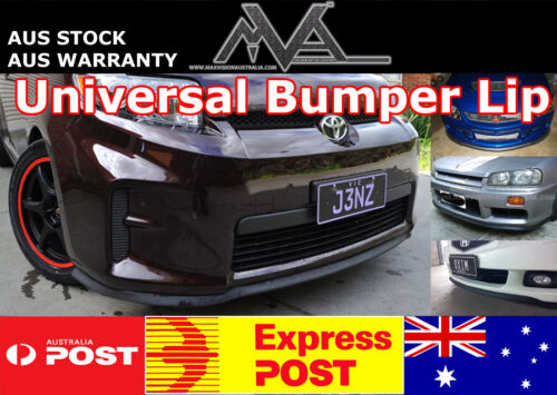Rhino Lip Low Bumper Guard Chin Lip Splitter Spoiler For Holden