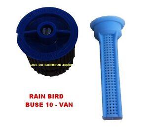 buse 10 van pour arroseur tuy re uni spray rain bird. Black Bedroom Furniture Sets. Home Design Ideas