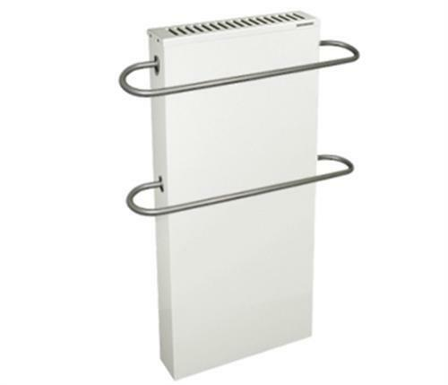 Elektroheizung - Badheizkörper WFH 60/100 - 2000 Watt mit 2 Handtuchhaltern