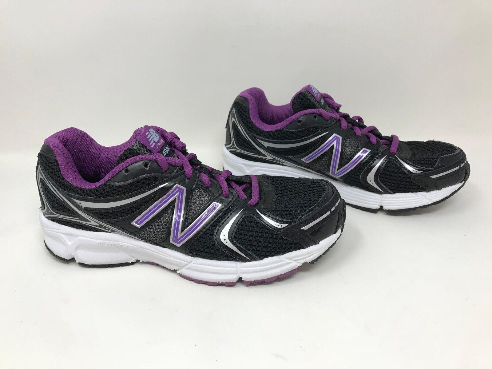 New  Women's New Balance 490V2 Black Purple SZ 7 W490MVL2 H22