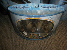 Lord of the Rings Soldiers and Scenes Easterling Warriors Figures, NEW