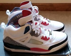 online retailer a61f1 ce331 Details about Nike Air Jordan Spizike White Fire red Black Size 12 (315371  165)