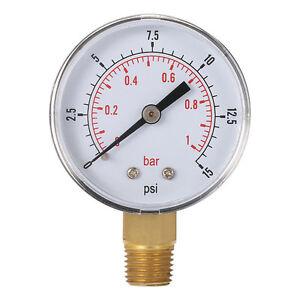 Mini Baja Presion Calibre Para Aire Combustible Aceite