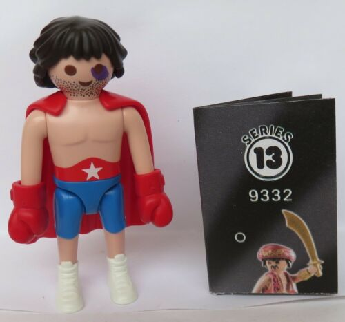 Playmobil Mystery Series 13 Boys  Boxer  #9332  new  2018