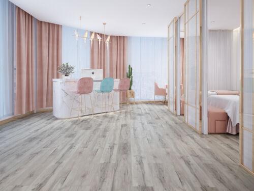 Water Resistance Laminate Flooring 12mm Waxed edges European Style Blanko