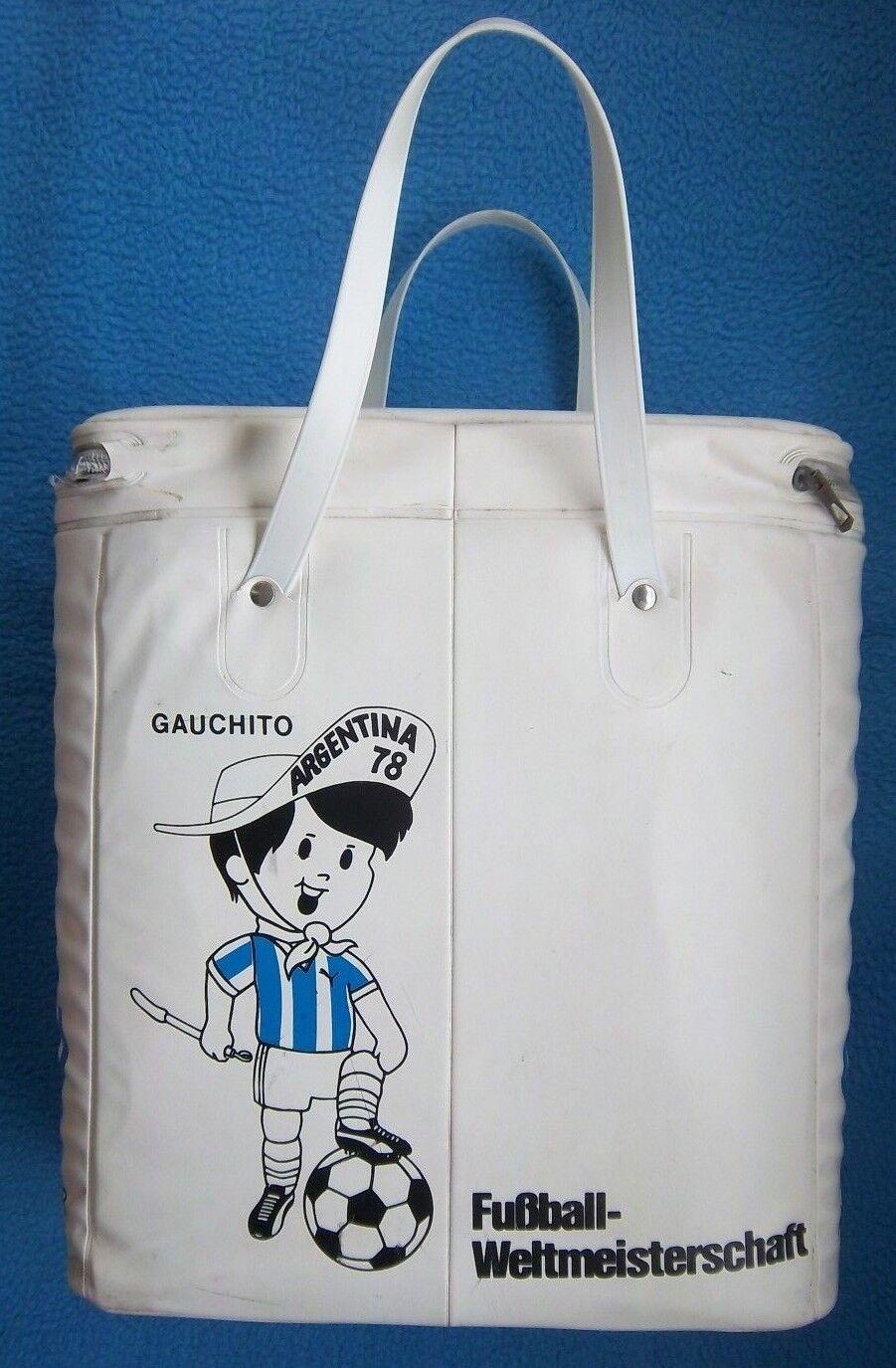 Orig.Tasche / Kühltasche  - WM ARGENTINIEN 1978 -  GAUCHITO // 39 cm      RARITÄT 0fbff5