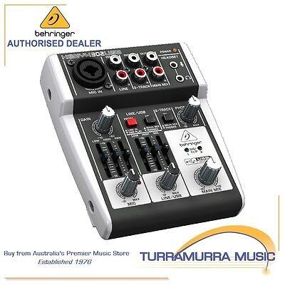 Behringer Xenyx 302USB Premium 5-Input Audio Mixer with USB/Audio Interface