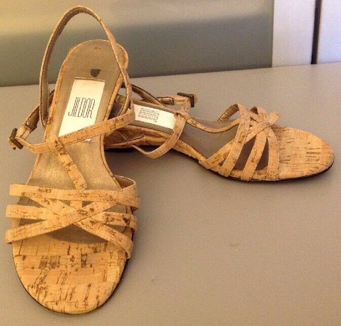 damen's 4 1 1 1 2 Jildor Cork Sandals 9b4c04