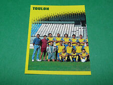N°398 EQUIPE PART 1 SC TOULON SCT D2 PANINI FOOT 98 FOOTBALL 1997-1998