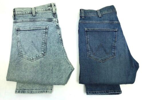 RRP £110 WA126 Mens Ex Wrangler Slider Tapered Fit Jeans FACTORY SECONDS