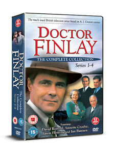 DOCTOR-DR-FINLAY-THE-COMPLETE-COLLECTION-SERIES-1-2-3-amp-4-DAVID-RINTOUL-12-DVDS