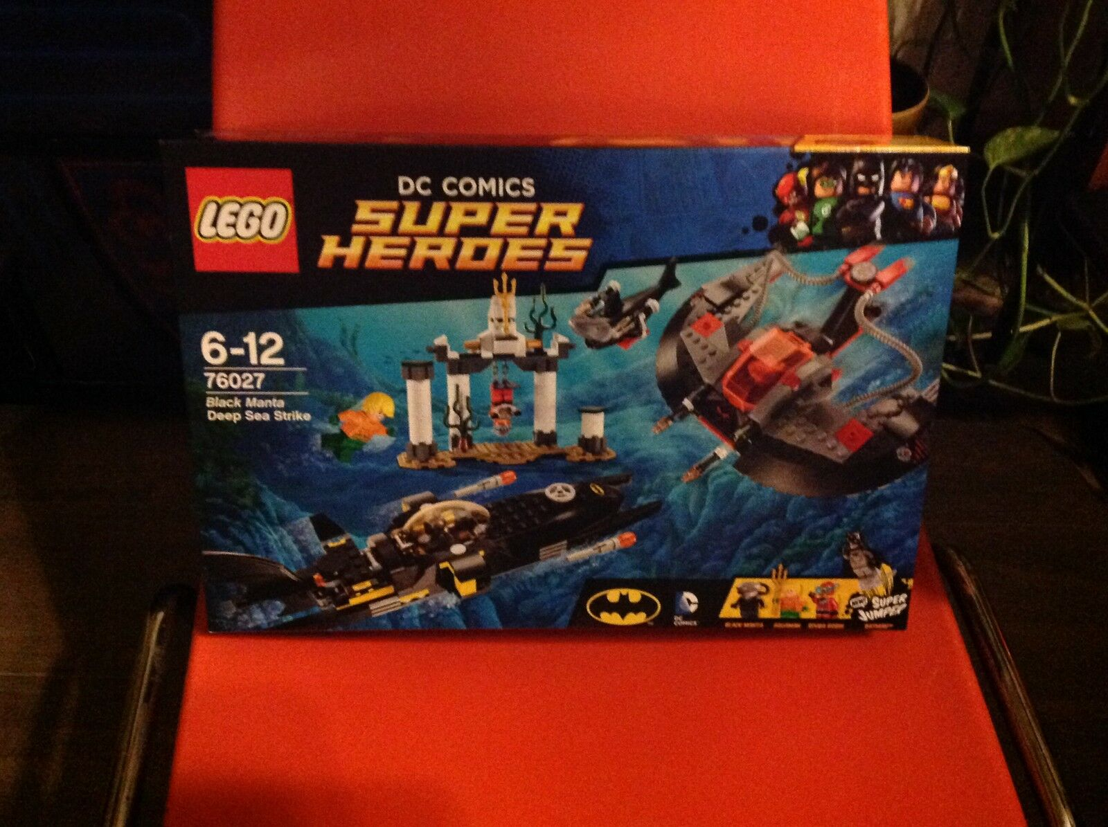 Lego Super Heroes 76027 schwarz Manta Deep Sea Strike