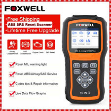 Foxwell ABS Bleeding SRS Airbag SAS Reset OBD2 Code Reader Scanner Diagnostic