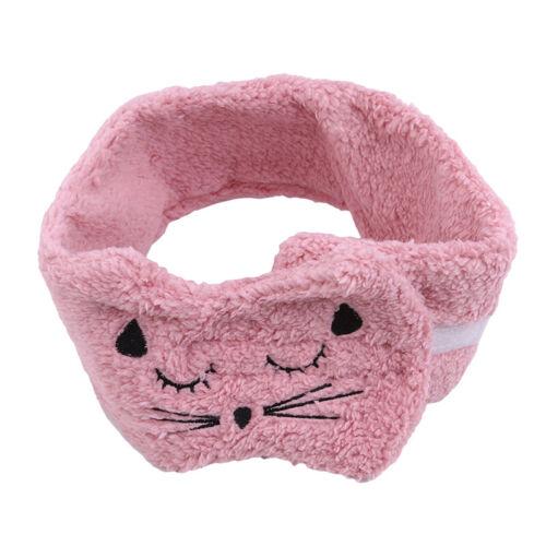 Cute Cat Ear Hairband Headband Yoga Sports Hair Accessory Face Mask Makeup HD