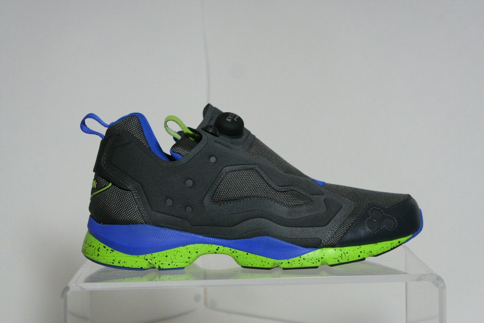 Reebok Insta Pump Sample Sneakers Sneakers Sneakers Athletic Hipster Multi Men's 9 Blue EUC a14ef7