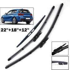 2004-2012 20 20 Aero FLAT Windscreen Front Wiper Blades 1 Series 118d Hatchback E87,E81 Hatchback
