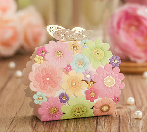 image is loading 100pcs laser cut butterfly buckle wedding favor candy