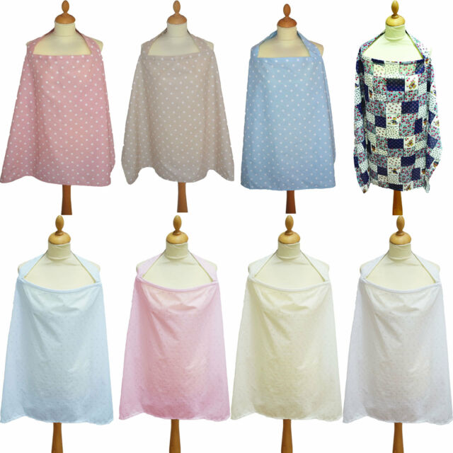 Dots Baby Breastfeeding Cover/Cape NEW. Toddler/Nursing Apron. 100% Cotton