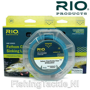 Rio-Lake-Series-Fathom-CleanSweep-Sinking-Fly-Lines-All-Sizes-Freshwater-Fishing