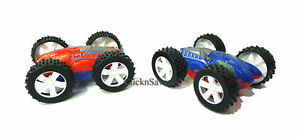 New Flip Over Stunt Car Friction Powered 4 Wheel Drive 4 x 4 Kids Toy