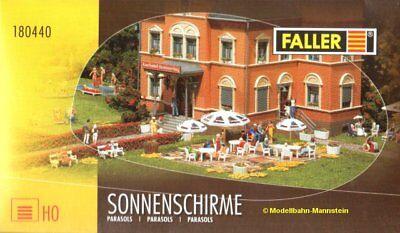 ** Faller 180440 Ombrelloni H0, Nuovo Ovp **-mostra Il Titolo Originale Saldi Estivi Speciali