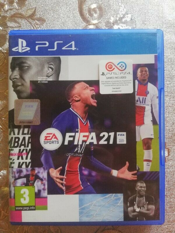 Fifa 21 standard edition (ps4 and ps5)