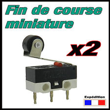 904G/2# 2pcs Fin de course miniature à galet micro switch robotique, arduino