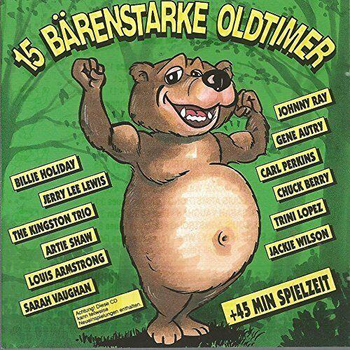 15 bärenstarke Oldtimer Carl Perkins, Trini Lopez, Chuck Berry, Jerry Lee.. [CD]