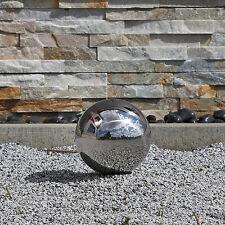 15cm Kugel aus Edelstahl Edel Stahl Gartenkugel V2A Hohlkugel Deko Garten