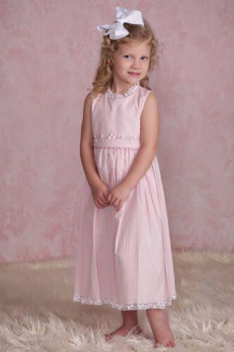 NEW Strasburg Children Beach Dress for Girls Summer 2-10 Pink Lavender White