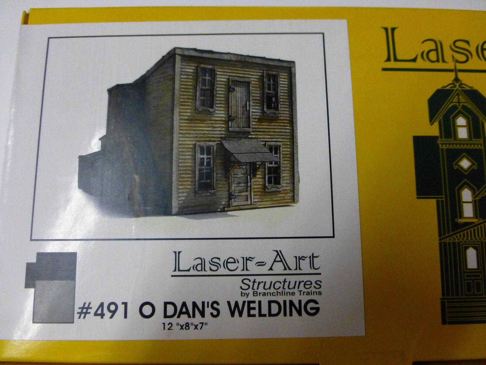 Branchline O laser Art Structures  491 Dan's Welding