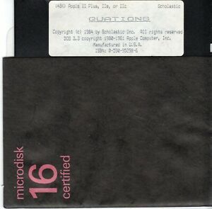 ITHistory-1984-Apple-Software-034-Quations-034-For-IIe-IIc-and-Plus-Scholastic