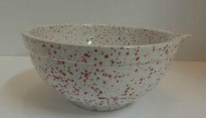 Coche-Stoneware-Spongeware-Mixing-Bowl-w-Spout-Portugal
