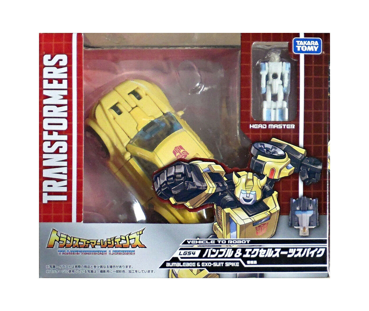 Transformers Takara Legends LG-54 Bumblebee & Spike Exo Suit Brand New
