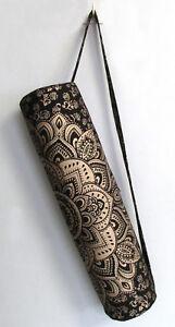 Black-Golden-Yoga-Mat-Carrier-Bag-Mandala-Indian-Large-Bags-With-Shoulder-Strap