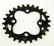 ABSOLUTE BLACK CHAINRING Oval 64 BCD N/W 64mm 4-bolt 26T Narrow/Wide 1x10/11/12