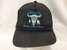 trucker hat baseball cap Excel Dodge City Kansas retro vintage rare rave nice