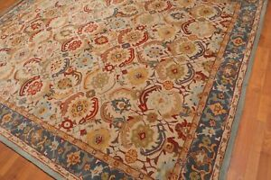Old-Hand-Made-Traditional-Nain-Parsian-Zieglar-Oriental-Wool-Area-Revo-Rug