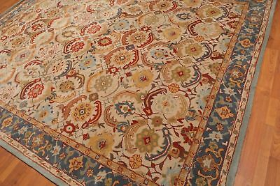 Old Hand Made Blue Traditional Persian Oriental Style Wool Area Revo Rug Sfhs Org