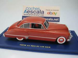 TINTIN-1-43-Buick-Sedan-1949-Au-Pays-de-lor-noir-1950-P-56-cochesaescala