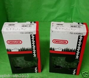 2-Pack Oregon Saw Chain 72LGX084G 84 Link 3/8,.050 33 RS 84