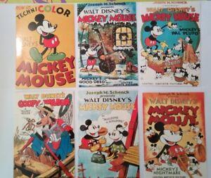 6-carte-postale-postcard-Mickey-Mouse-Walt-Disney-039-s