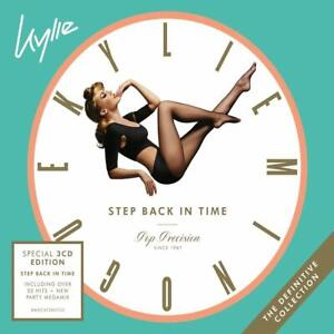 Kylie-Minogue-Step-Back-in-Time-The-Definitive-Collection-3-CD-Digipak-NEW