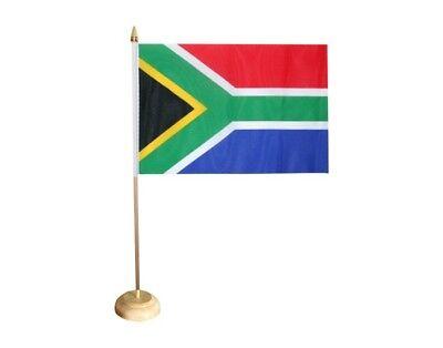 Tischfahne Südafrika alt 10 x 15 cm Fahne Flagge